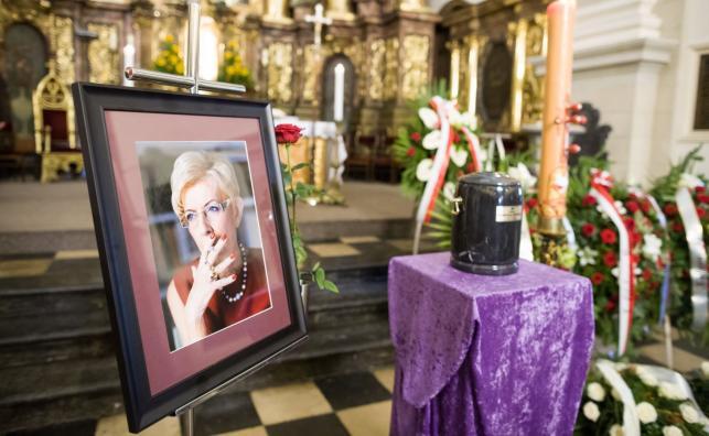 Pogrzeb Janiny Paradowskiej