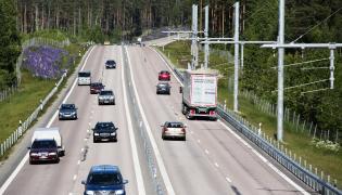 Odcinek testowy elektrycznej drogi uruchomiono pod koniec czerwca