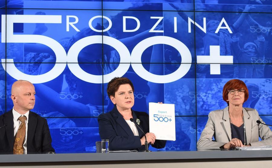 Paweł Szałamacha, Beata Szydło i Elżbieta Rafalska