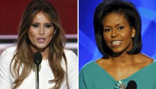 Melania Trump, Michelle Obama