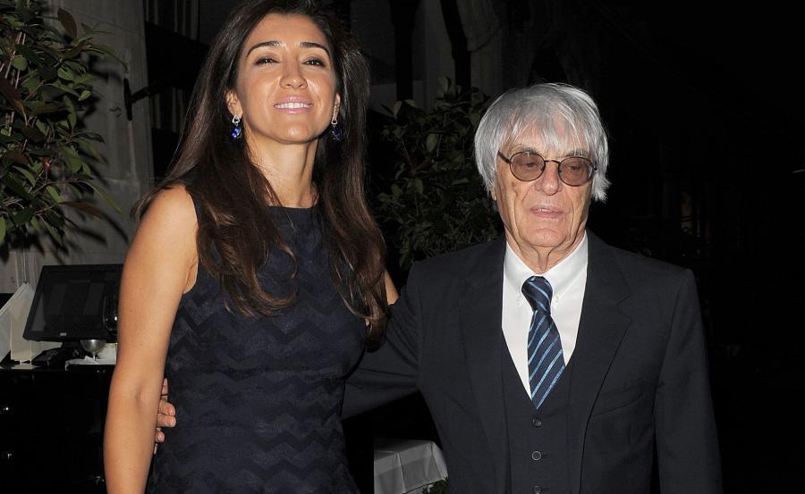 Fabiana Flosi i Bernie Ecclestone
