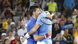 Juan Martin Del Potro i Novak Djokovic