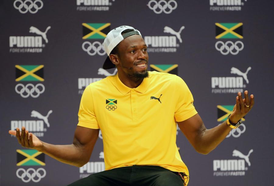 Usain Bolt w Rio de Janeiro tańczył sambę z pięknymi tancerkami
