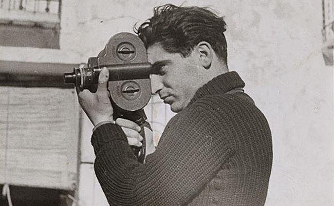 Robert Capa w 1937 roku na zdjęciu Gerdy Taro