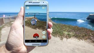 Aplikacja Pokemon Go