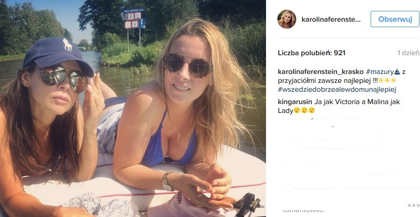 Karolina Ferenstein-Kraśko i Kinga Rusin