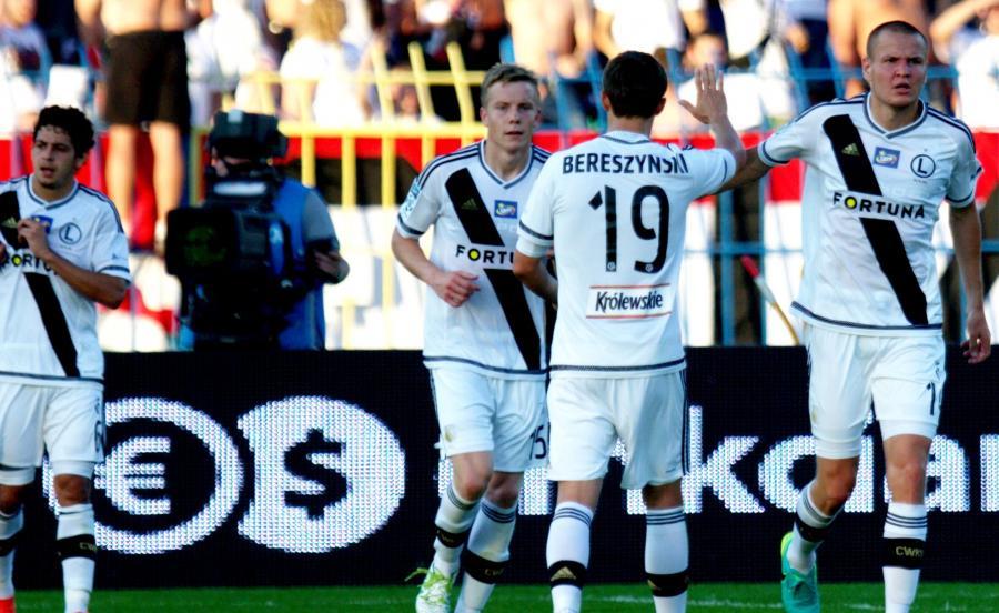 Legia wygrała z Ruchem