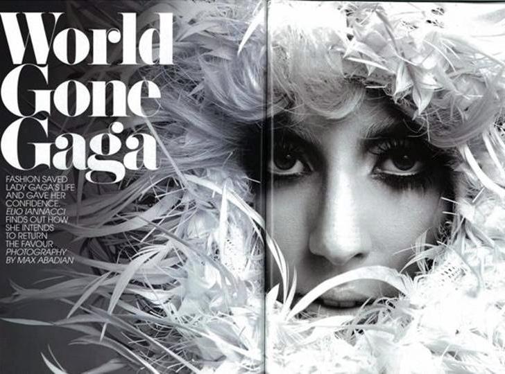 Lady GaGa w grudniowym magazynie \
