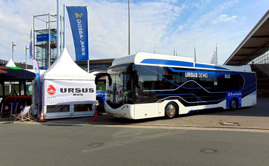 Ursus City Smile Fuel Cell Electric Bus
