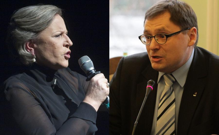 Krystyna Janda, Tomasz Terlikowski