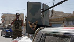 Kurdyjskie bojówki w Syrii