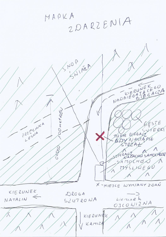 Mapa zdarzenia