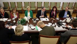 Spotkanie z Misją Kamiliańską w Senacie