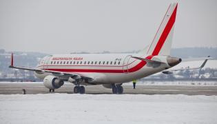 Rządowy samolot embraer 175