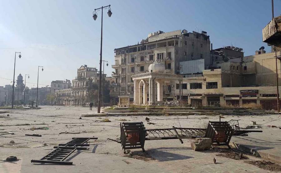 Zniszczenia w Syrii