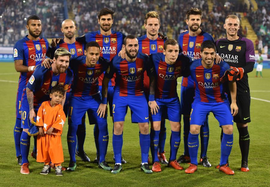 54aa944b9 Zdjęcia: Lionel Messi spotkał się ze swoim kibicem z Afganistanu ...