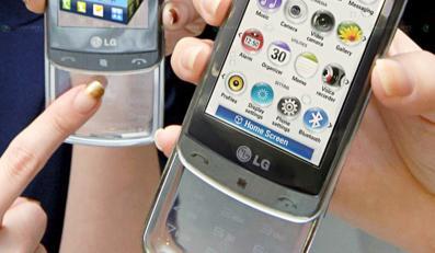 Zobacz telefon z przezroczystą klawiaturą