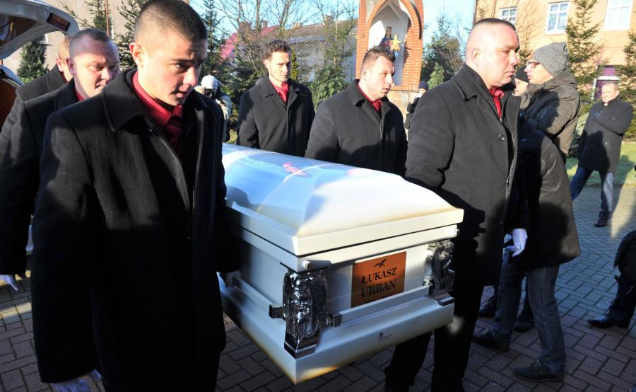 Pogrzeb polskiego kierowcy