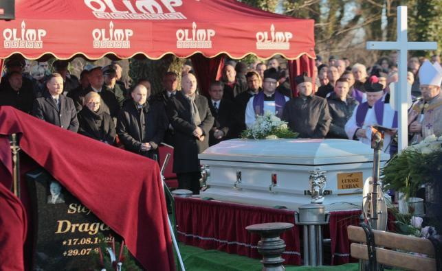 Pogrzeb zabitego w Berlinie kierowcy