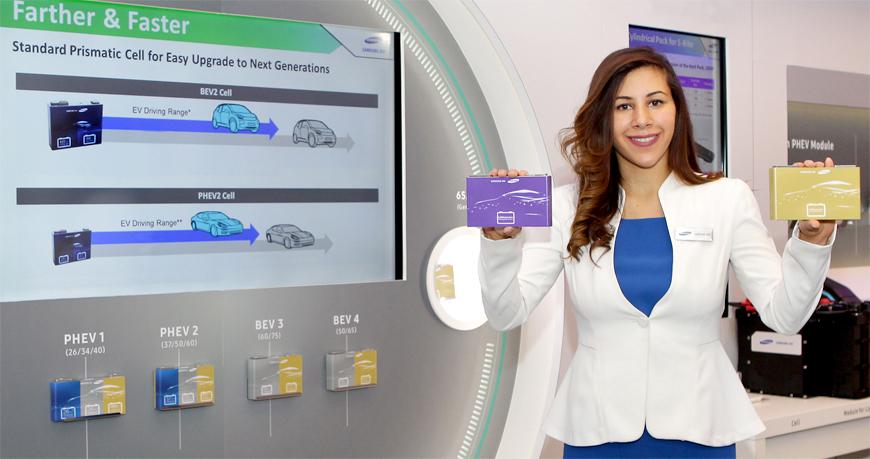 Nowe akumulatory Samsunga mają dać zasięg 600 km
