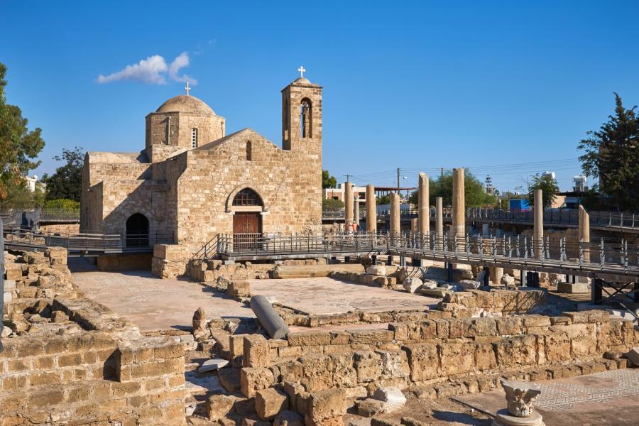 Pafos, dawna stolica Cypru