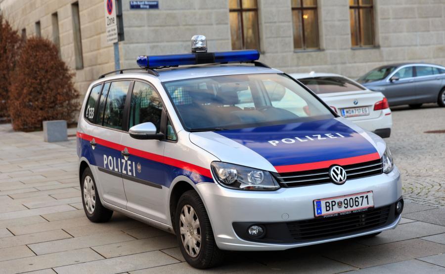 Radiowóz austriackiej policji