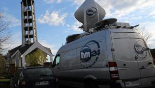 Wóz transmisyjny TVN24