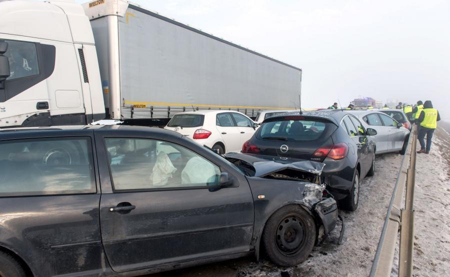 Dolnośląskie. Karambol między Świdnicą a autostradą A4