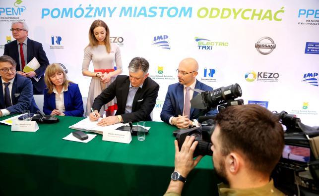 Inauguracja Polskiego Programu Elektryfikacji Motoryzacji