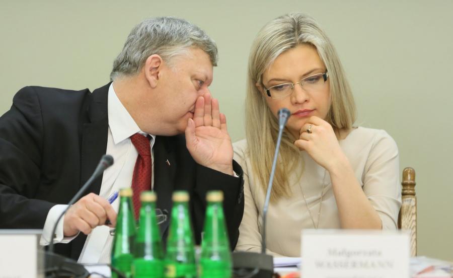 Marek Suski i Małgorzata Wassermann